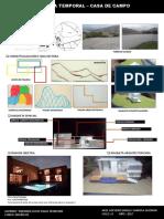 Modelo Panel Arquitectónico (Casa de Campo)