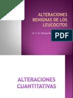 Alteraciones Benignas de Los Leucocitos 1
