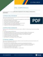 Intercultural Competencies