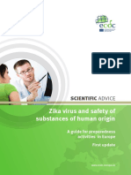 Zika Virus Safety of Substances of Human Origin Update 2017 Web