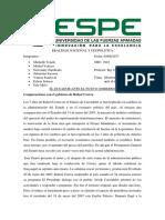 El Ecuador Ante El Nuevo Gobierno - Espe