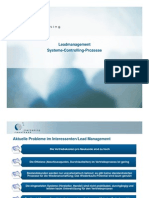 Systematisches Leadmanagement