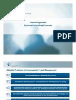 Systematisches Leadmanagement