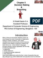 Decision Making Branching