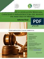 Evaluaci n de La Legislaci n Mexicana MIA MERCURIO