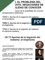 U6 T3 El Empirismo