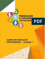 produção e consumo consciente Apostila - Unidade 1