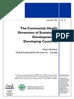 Community Health Risk Assessment Mmsd