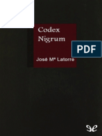 Jose Maria Latorre - Codex Nigrum
