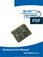 CM i.mx27Cv2.1 Hardware User Manual