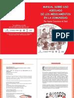 Manual Sobre Uso Adecuado de Medicamenos en La Comunidad