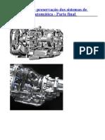Manutenção e Preservação Dos Sistemas de Transmissão Automática