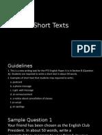 Short Text PT3