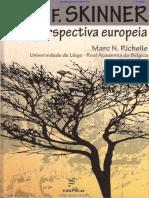 B. F. Skinner, Uma Perspectiva Europeia - Marc N. Richelle, 2014 [INDEX] (1)