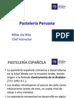 Pastelería peruana - Resumen