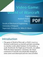 Homework 2 2 World of Warcraft