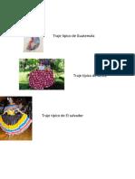 Trajes Tipicos de Los Paises de Centro America