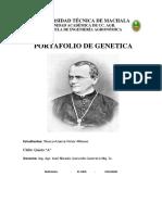 Portafolio de Genetica