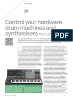 Ableton Live - Controle Drum Mashine or Synthetiser