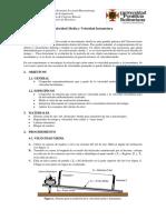 PracticaIII_Velocidad Media Velocidad Instantánea