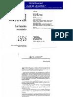 ¿Qué Es Un Autor-michel Foucault
