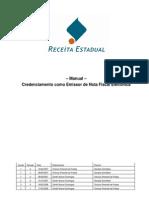 Credenciamento como Emissor de Nota Fiscal Eletrônica v 3.1