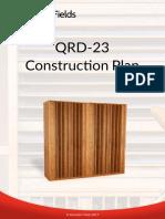Acoustic Fields QRD 23 DIY Plan 2017