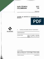 3 GTC-176 Sistema Gestion Continuidad Negocio