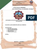 Informe 04 Quimica Analitica - Laboratorio Ultimate 2016