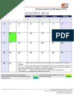 CalendarioAcademico 2º Sem 2015