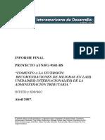 Fomento a la Inversión. Recomendaciones en las Unidades de Administración Tributaria.pdf