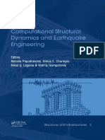 Computational Structural Dynamic - Manolis Papadrakakis