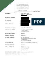 Coroner's report for Baylee Gatlin