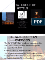 Organizational Behaviour Case Study - The TAJ Group of Hotels