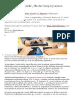 El futuro de la escuela- Más tecnología y menos docentes.pdf