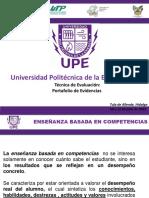 Portafolio de Evidencias Ebc - Upe - 060715