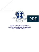 Manual de Procedimientos Bioterio 2016