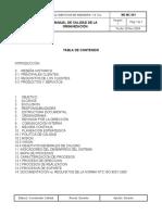 Modelo Manual de Calidad 2