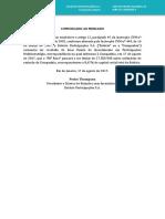 Comunicado ao Mercado - Aquisição de Participação Relevante
