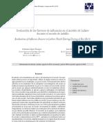 Evaluación de los factores de influencia en el modelo de Luikov durante el secado de ladrillo