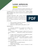 Contabilidad Gerencial - Cuaderno