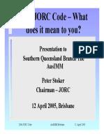 Jorc Presentation