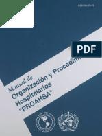 Manual de organización y procedimientos hospitalarios