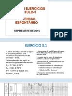 Solución de Ejercicios de Registros de Potencial Espontáneo.