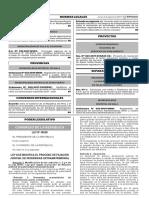 LEY 30628. LEY QUE MODIFICA EL PROCESO DE FILIACIÓN JUDICIAL DE PATERNIDAD EXTRAMATRIMONIAL.pdf