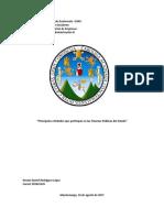 Principales Entidades Que Participan en Las Finanzas Publicas