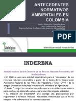 1. Antecedentes Legales Ambientales en Colombia. America Ajustado