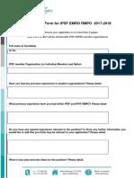Nomination Form EMRO RMPO 2017-18
