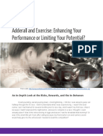 Adderall and Exercise