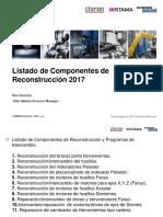 Nuevos Precios Para Los Componentes de Reconstruccion 2017 - Chiron Spanish Version